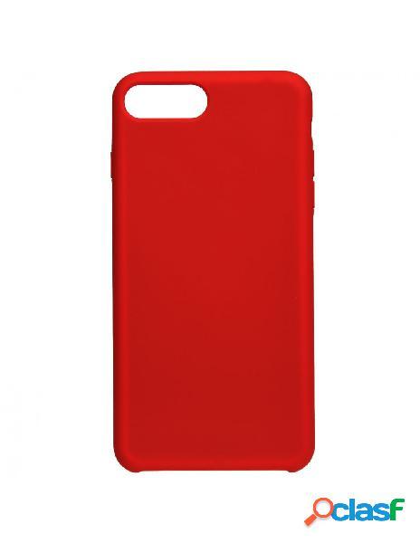 Funda Ultra suave Roja para iPhone 7 Plus