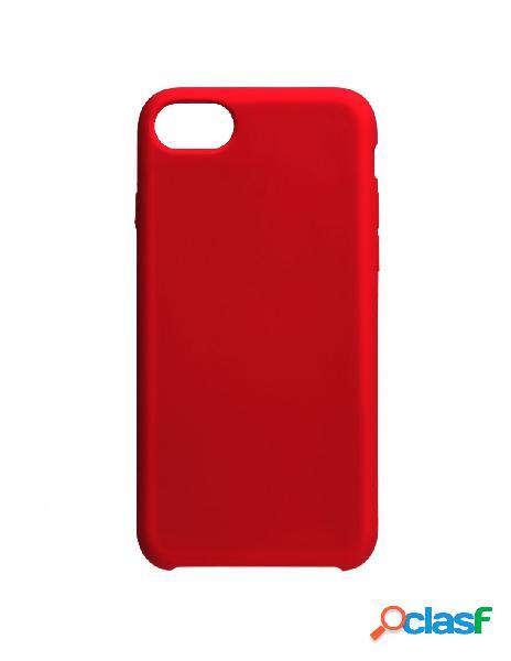 Funda Ultra suave Roja para iPhone 8