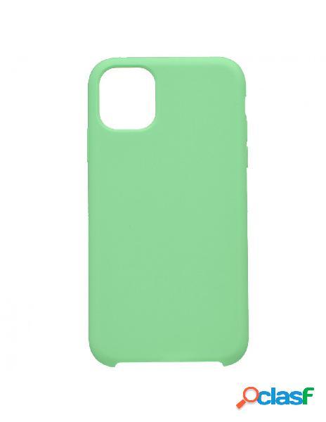 Funda Ultra suave Verde Menta para iPhone 11 Pro