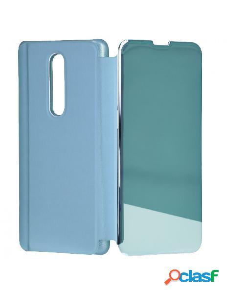 Funda libro Espejo Azul para Xiaomi Mi 9T