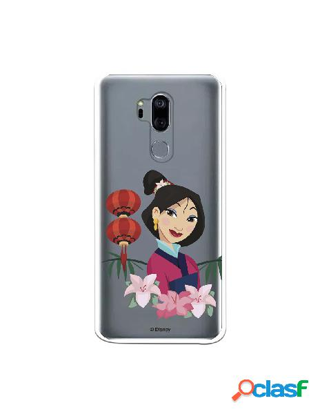 Funda para LG G7 Oficial de Disney Mulan Rostro - Mulan