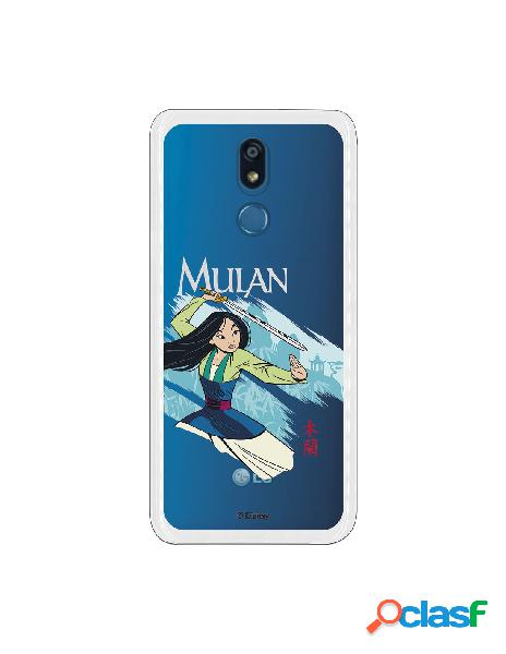 Funda para LG K40 Oficial de Disney Mulan Tipografia - Mulan