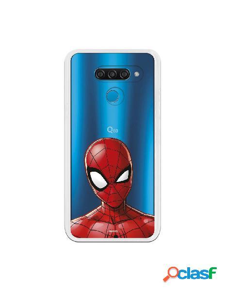Funda para LG K50 Oficial de Marvel Spiderman Silueta -