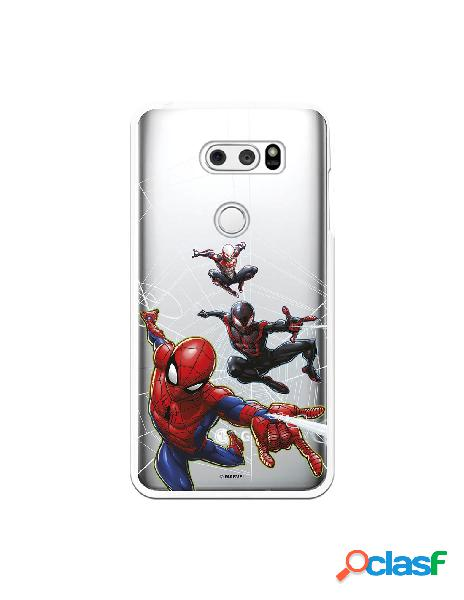 Funda para LG V30S ThinQ Oficial de Marvel Spiderman