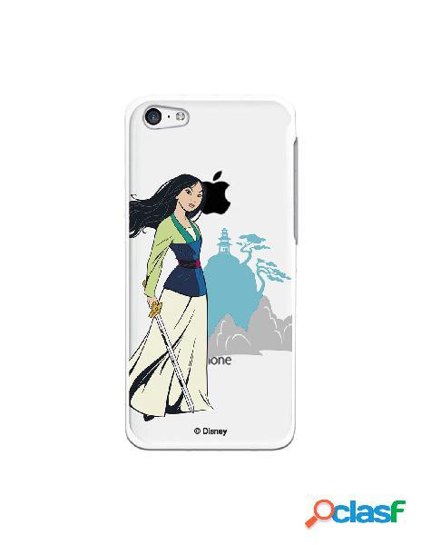Funda para iPhone 5C Oficial de Disney Mulan Templo - Mulan