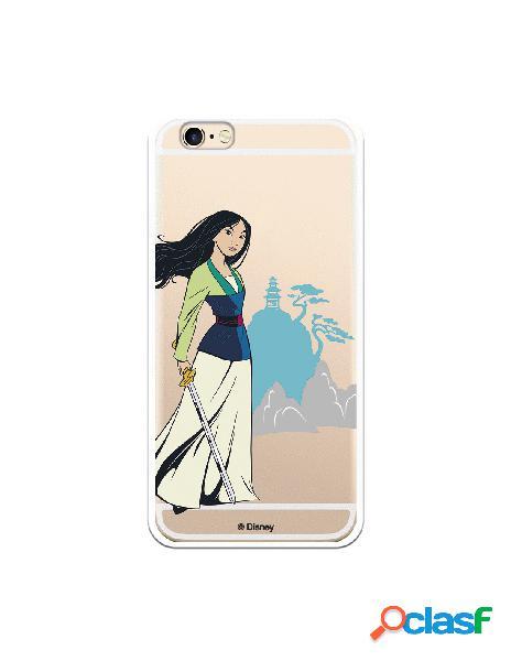 Funda para iPhone 6S Oficial de Disney Mulan Templo - Mulan