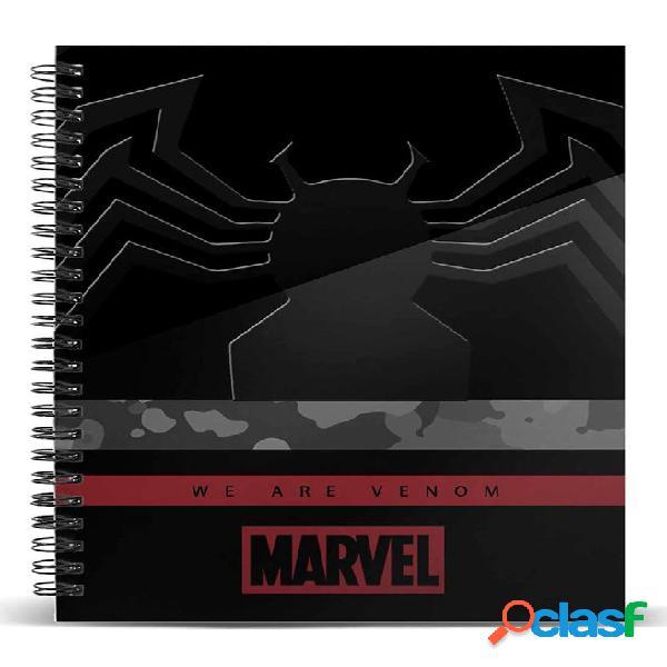 Libreta Venom Marvel A5