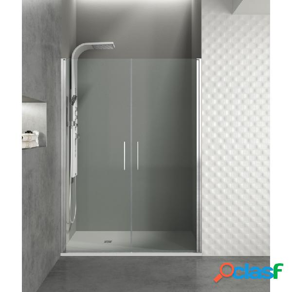 Mampara de ducha gme 160 cm open combi i frontal abatible