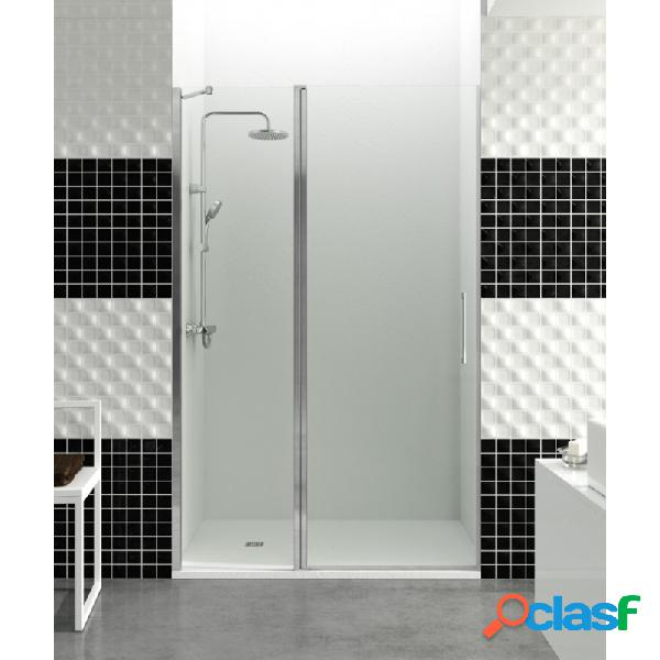 Mampara de ducha gme 75 cm - 25+50+43 cm open combi c