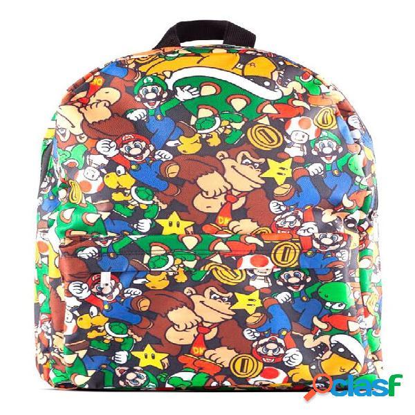 Mochila Personajes Super Mario 41cm