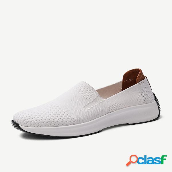 Mujer Malla de tela transpirable cómodo zapatos casuales de