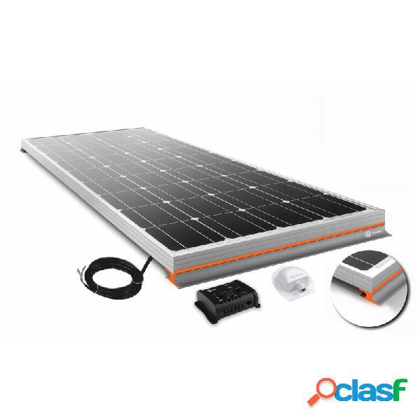 Panel xunzel solarvann 100w 12v con cargador