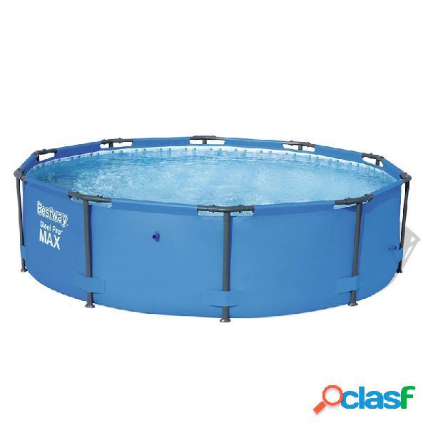 Piscina bestway steel pro max 56406 redonda azul 305x76 cm