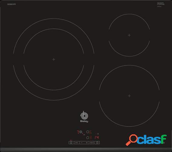 Placa Inducción Balay 3EB865FR - 60cm, 2 Zonas + Zona