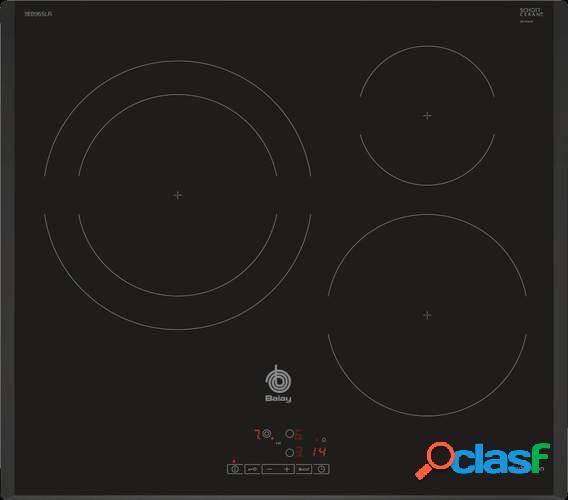 Placa Inducción Balay 3EB965LR - 3 Zonas (1 Gigante 28cm),