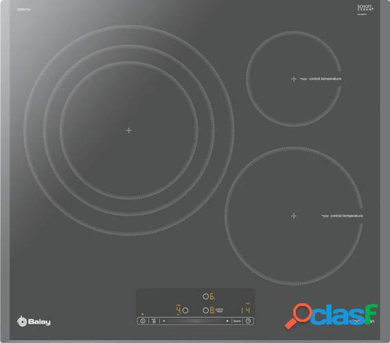 Placa Inducción Balay 3EB967AU - 3 Zonas (1 Gigante 32cm),