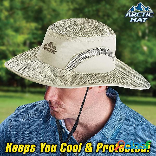 Protección solar Sombrero Cubo de hielo Protección contra