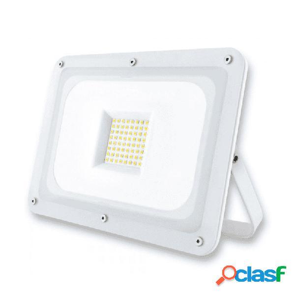 Proyector led blanco 50w luz fria 6400 k 5000 lumens