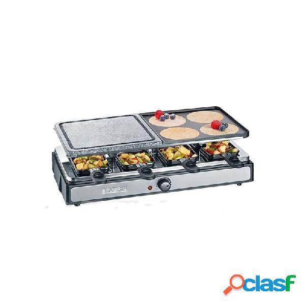 Raclette grill piedra severin 1400w