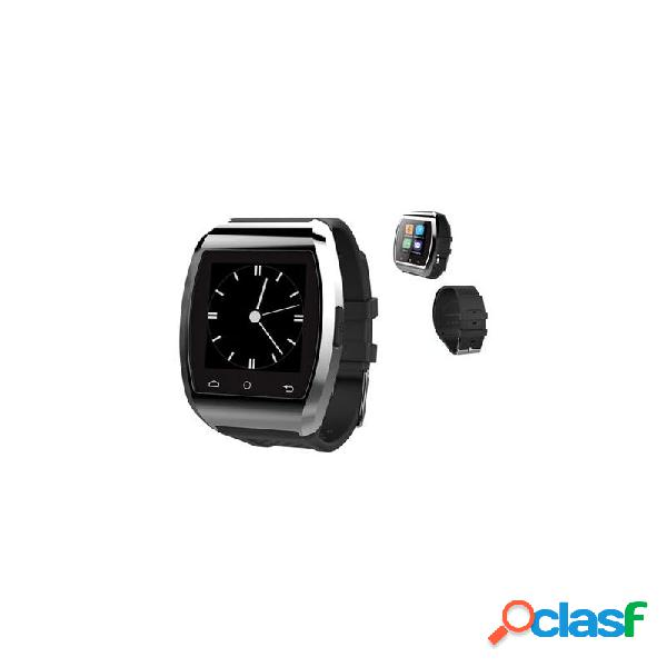 Reloj smart watch compatible ios plata negro