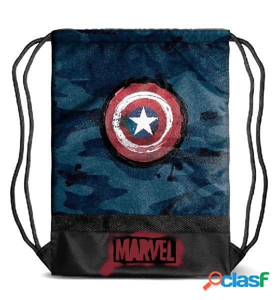 Saco de cuerdas Capitan America Marvel