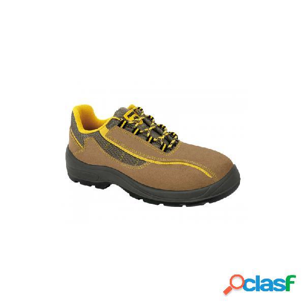 Zapato seguridad panter sumun totale s3 beig talla 43