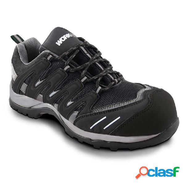 Zapato seguridad workfit trail negro talla 44