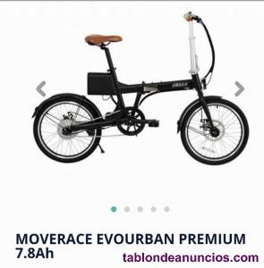 Bicicleta Eléctrica MOVERACE EVOURBAN PREMIUM 7.8 Ah