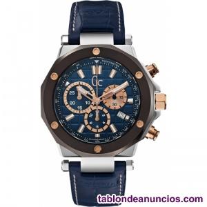 Reloj Cronógrafo de Hombre Azul, Modelo. Guess GC