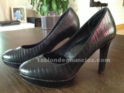 Zapatos Rockport negros de tacón alto talla 38