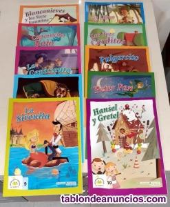 """Lote cuentos con CD """"Mejores cuentos de siempre"""""""