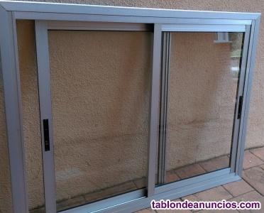 Vendo ventana de 2 hojas y marco,en perfecto estado.