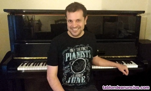 Clases online piano y lenguaje musical