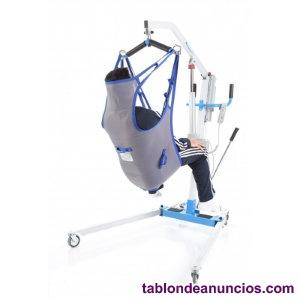 Grúa ortopédica eléctrica hasta 150kg con arnés