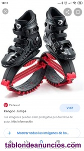 Se vende botas de kangoo dance