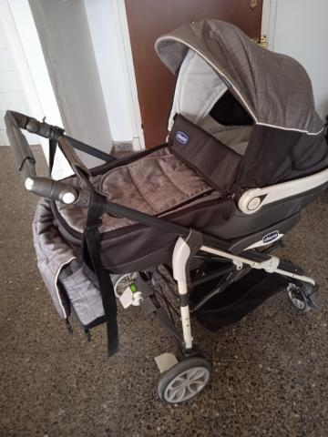 Carro de bebé tres piezas Marca chicco