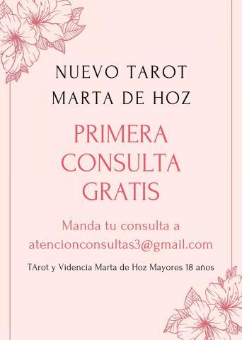 Marta de Hoz 1ª Consulta Gratis POR MAIL