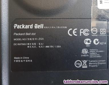 Notebook packard bell zg5