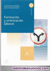 Vendo libro de formacion y orientacion laboral, editorial