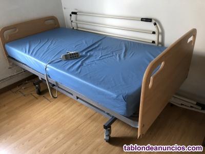 Cama hospitalaria electrica en perfecto estado