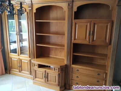 Mueble de comedor, mesa y sillas