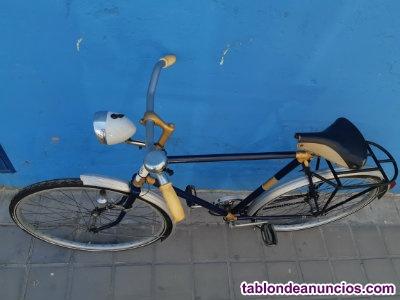 Bicicleta clásica antigua.
