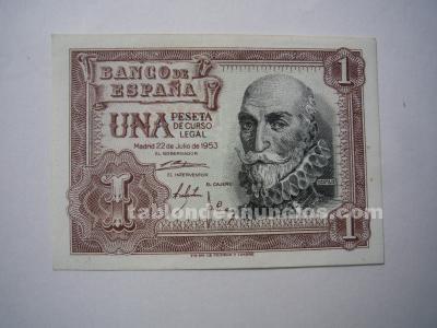 Billetes españoles desde 1 pts