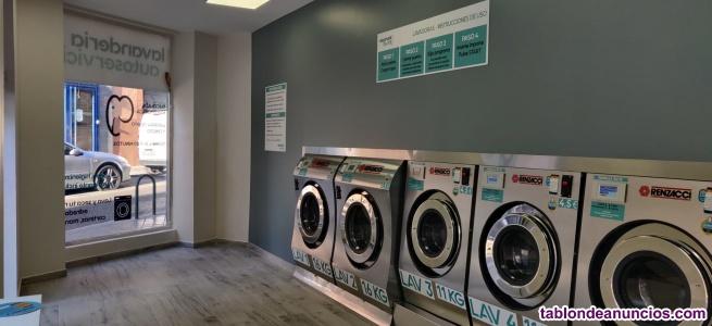 Se vende lavandería moderna a estrenar