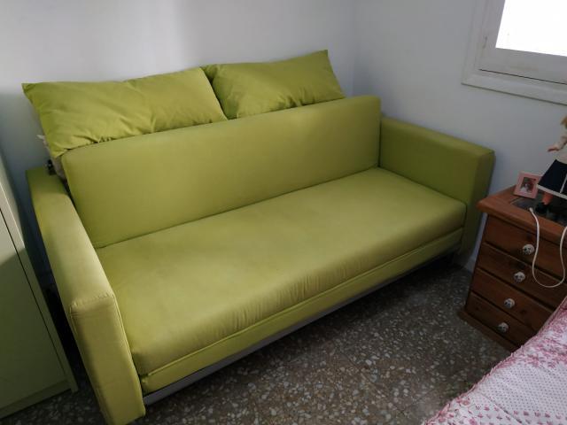 Sofa cama de linea moderna