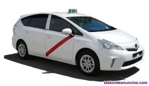Se busca conductor de taxi en madrid