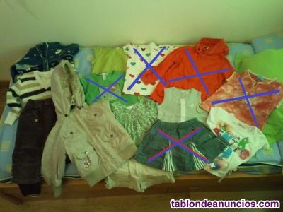 Ropa niña 4-5 años. 9 prendas
