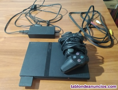 Playstation 2 fina + mando + memory card