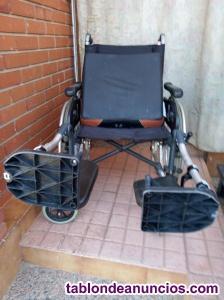 Vendo silla de ruedas con cojin antiescaras