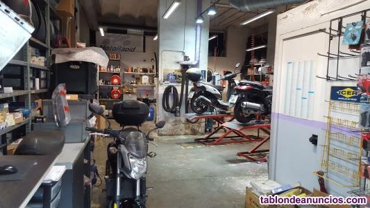 Traspaso taller reparación y venta motos